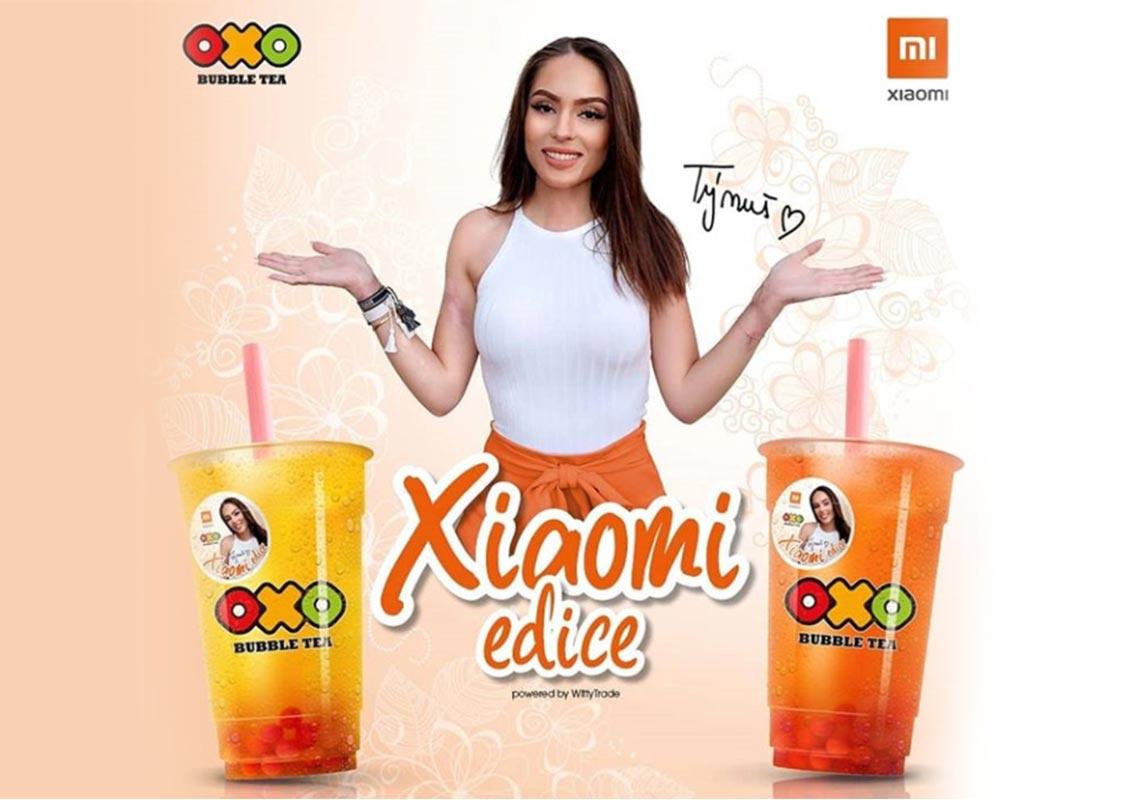 Týnuš Třešničková a letní edice OXO čaje od Xiaomi